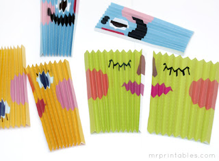 como hacer un abanico de papel