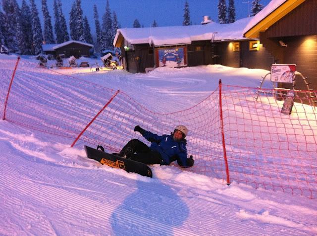 Snowboard, Fall