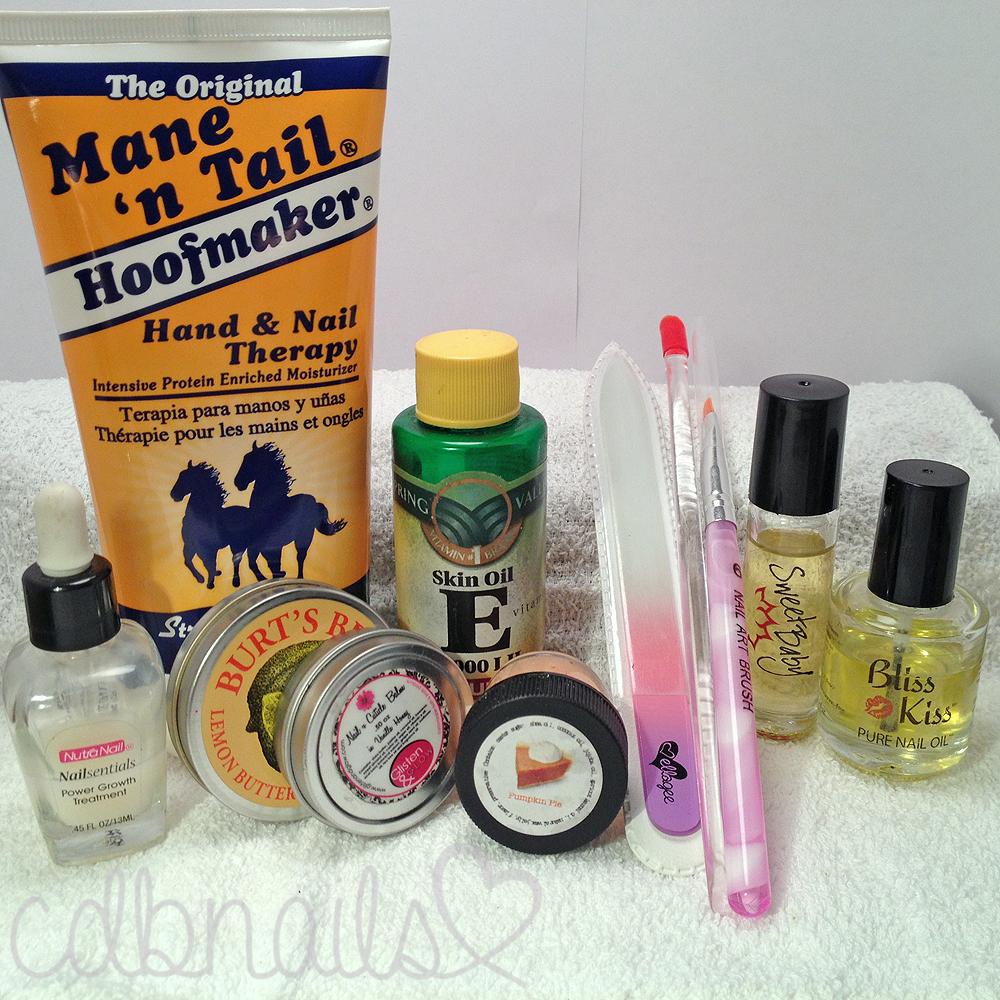 cdbnails: cdbnails - 10 Step Nail Care Routine