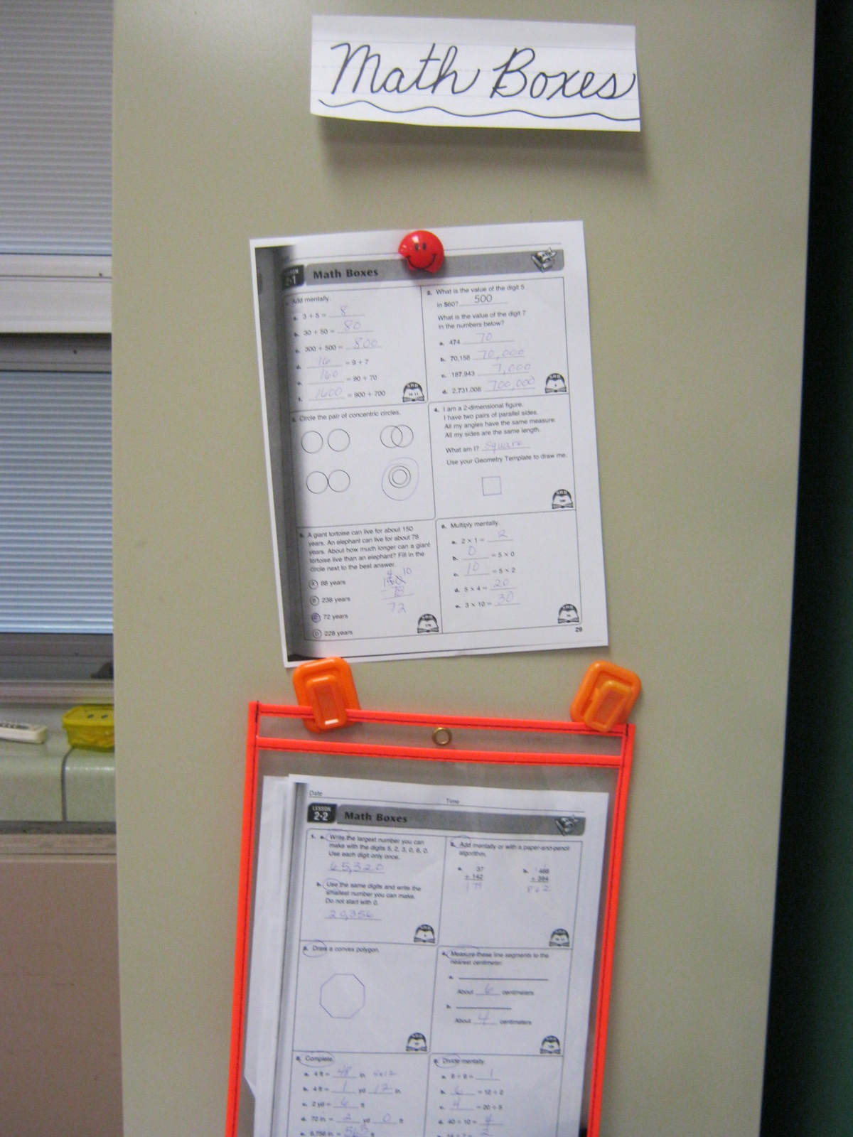 Enchanting Everyday Math Grade 3 Worksheets Picture Collection ...