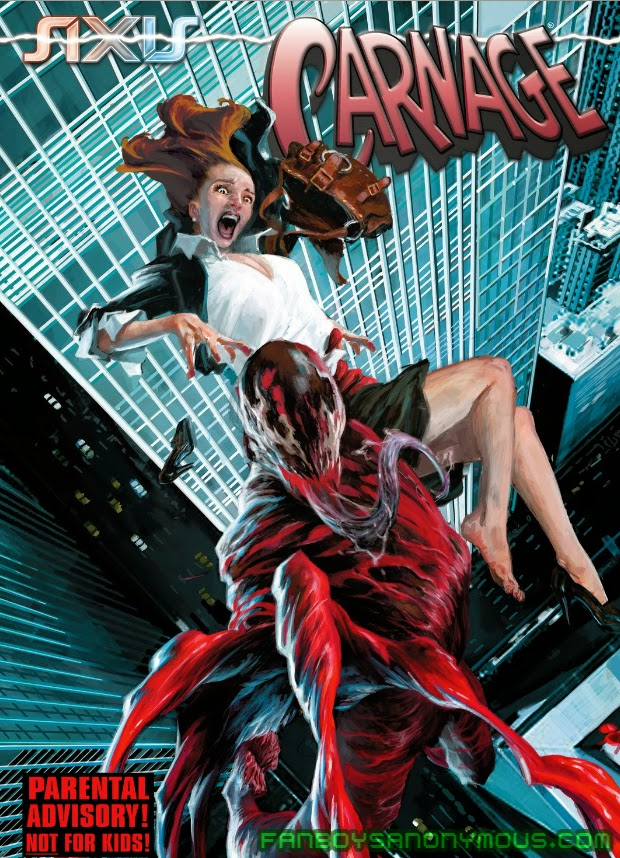 Read AXIS: Carnage digitally on your iOS and Android devices with comiXology