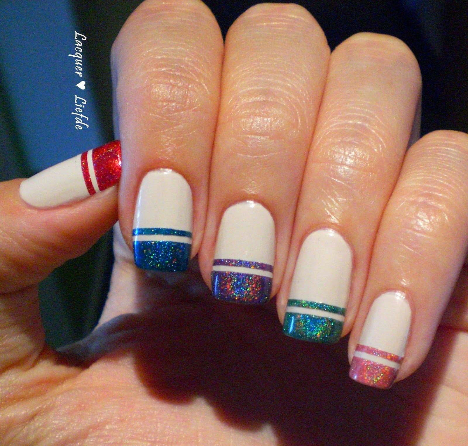 I Love Nail Polish - Double Line French Manicure