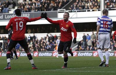 QPR 0 - 2 Manchester United (1)