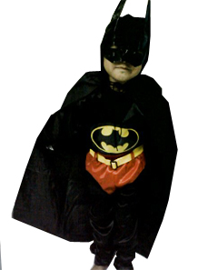 Kostum Superhero Batman Anak