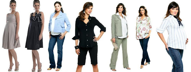 roupas de gestante