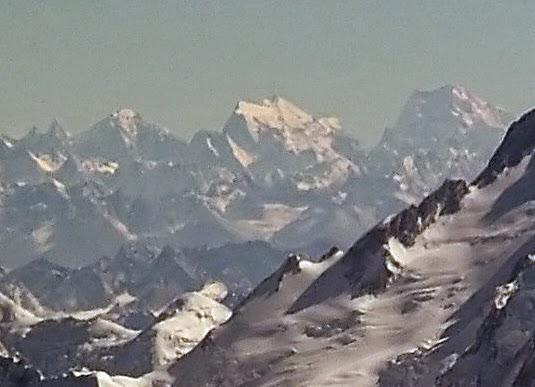 Saltoro Kangri Peak in Asia
