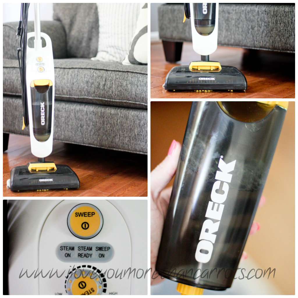 how to fix oreck steam mop