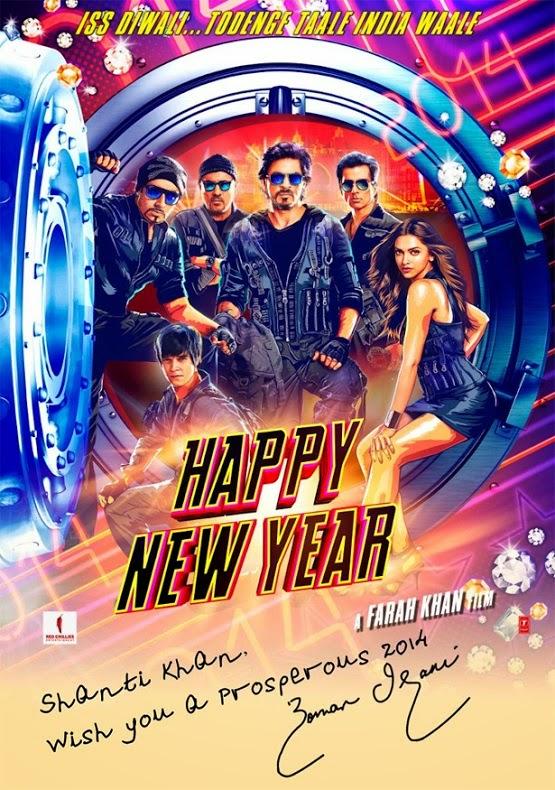 Boman Irani - Happy New Year 2014 Film HNY - Wish You a Prosperous Diwali 2014 Happy New Year 2015