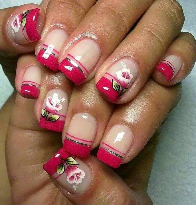 diseños de uñas , decorados de uñas , gel , pindotos , decoracion