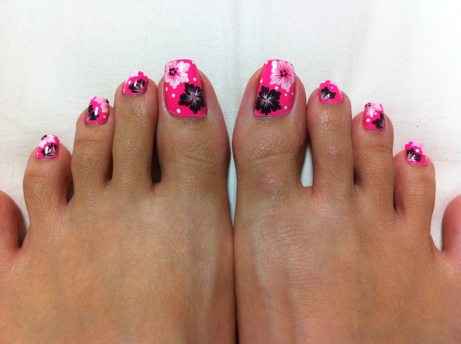 Summer Toe Nail Designs | Pccala | Nails Ideas