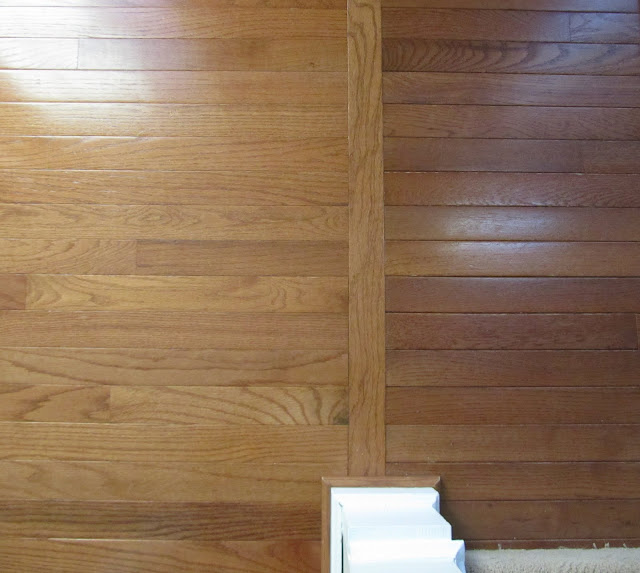 Acorn: The Process Of Refinishing Hardwood Floors: Before and After 640 x 573