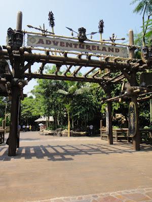 Adventureland at Hong Kong Disneyland Resort