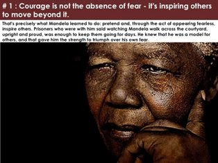 Nelson Mandela Inspirational Leadership Lessons and Quotes PPT Slide 1