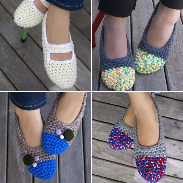 Zapatillas De Crochet Pinterest