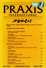 PRAXIS International (1981-1993) - Όλα τα τεύχη (Central & Eastern European Online Library - CEEOL)