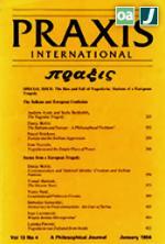 PRAXIS International (1981-1993) - Όλα τα τεύχη (Central & Eastern European Online Library - CEEOL)