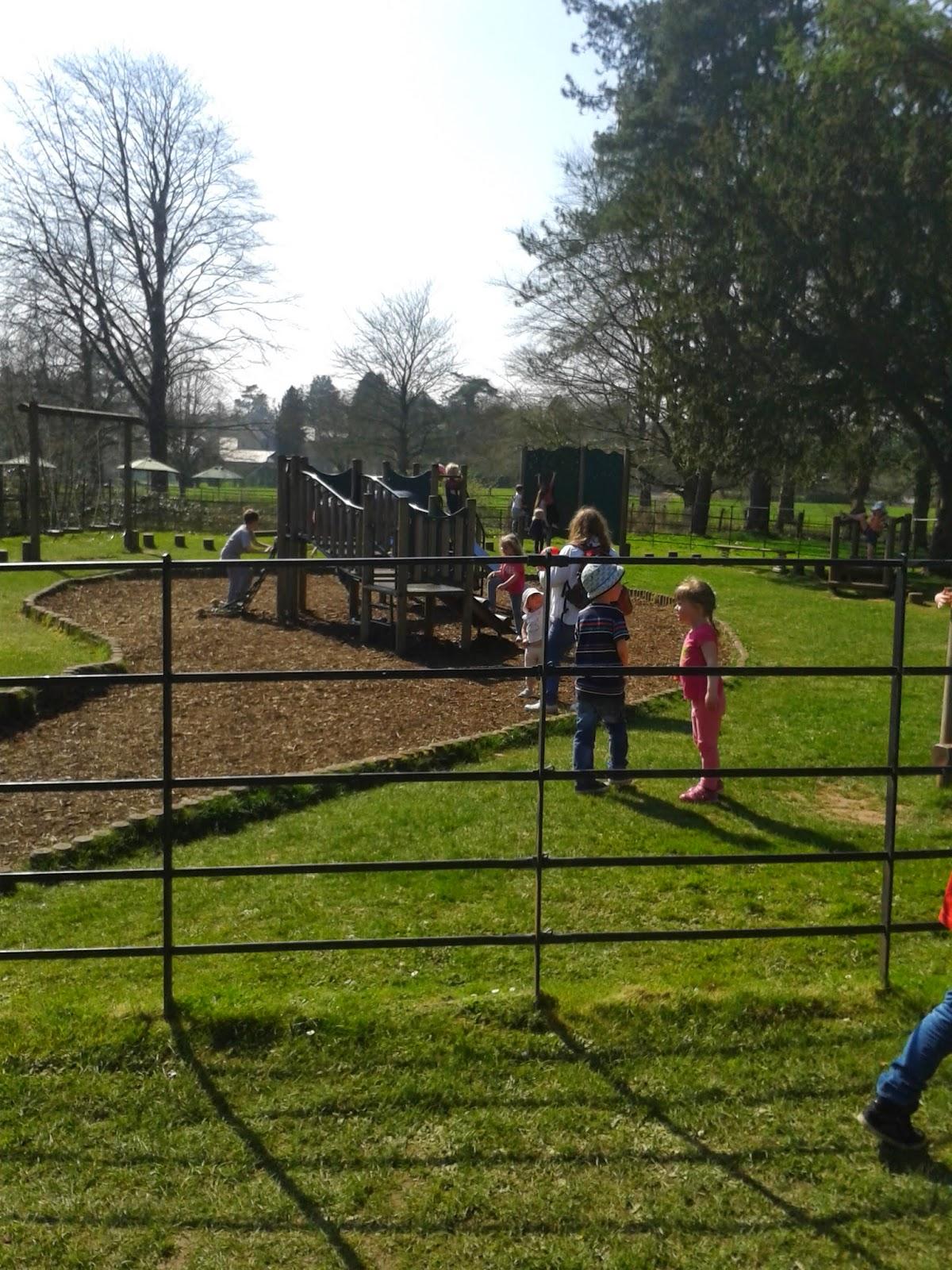 Play area, Dyffryn Gardens