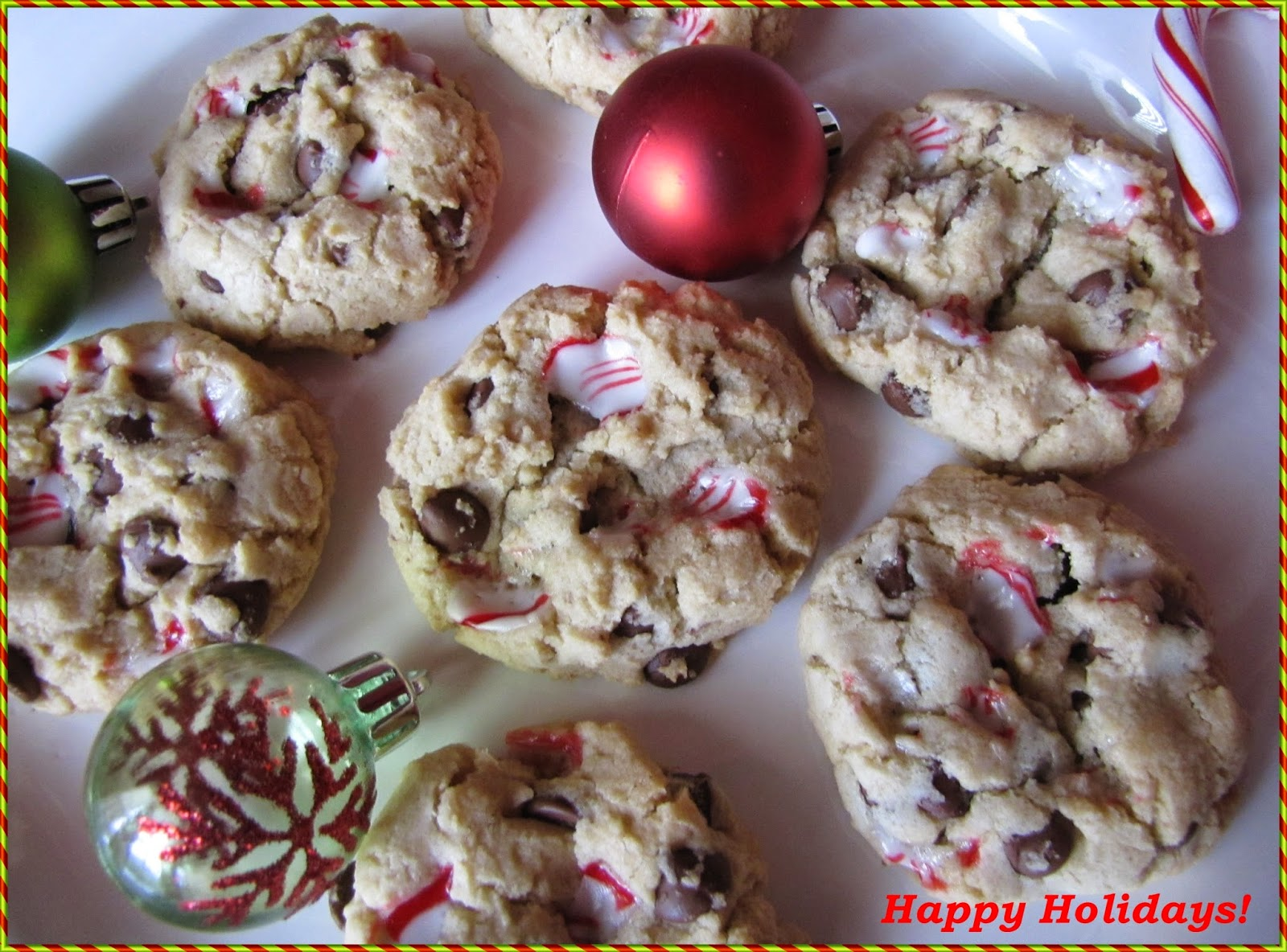 Big Mama's Home Kitchen: Happy Holidays ~ Chocolate Chip Peppermint ...