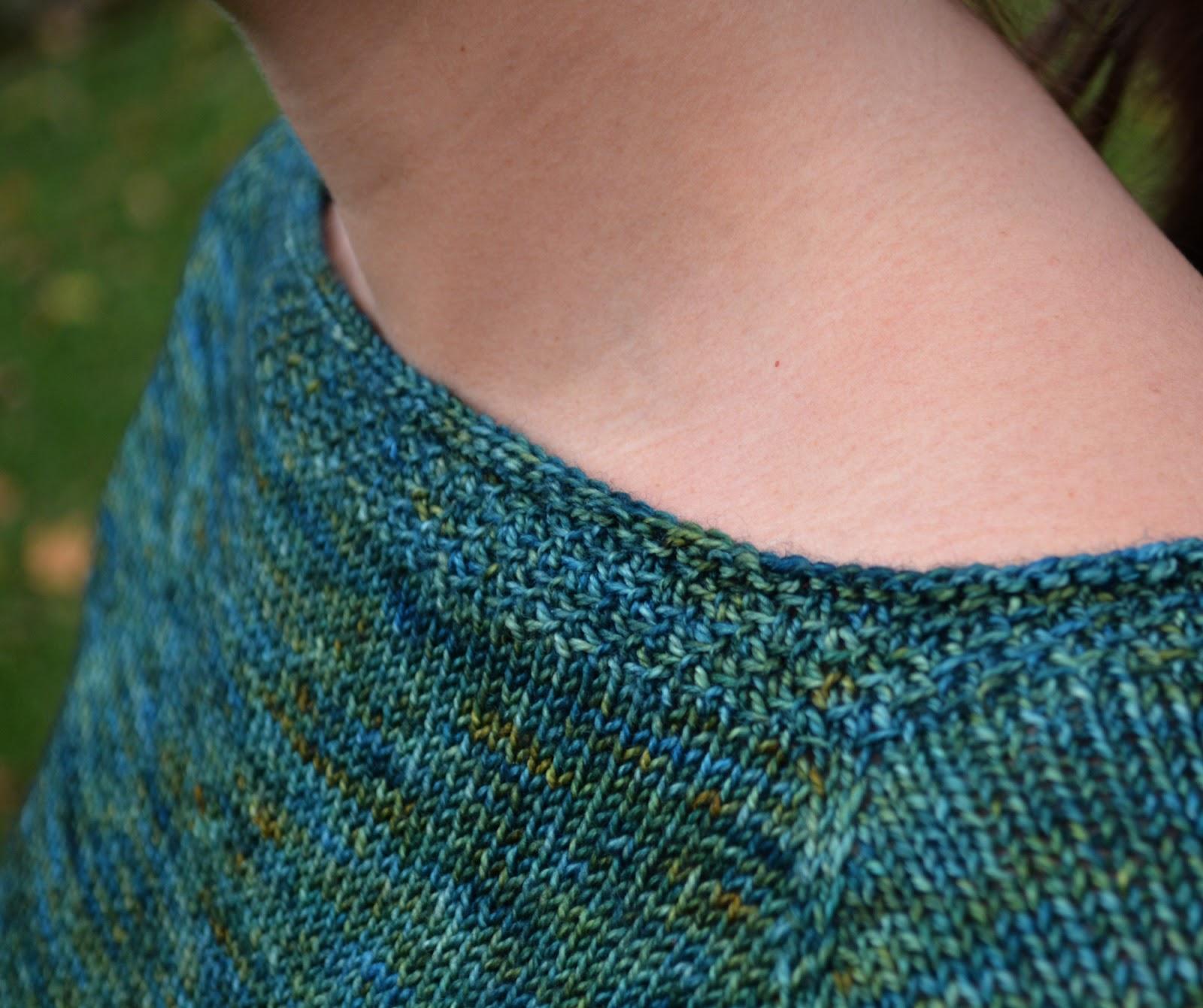 cozy birdhouse | handknit breakwater sweater