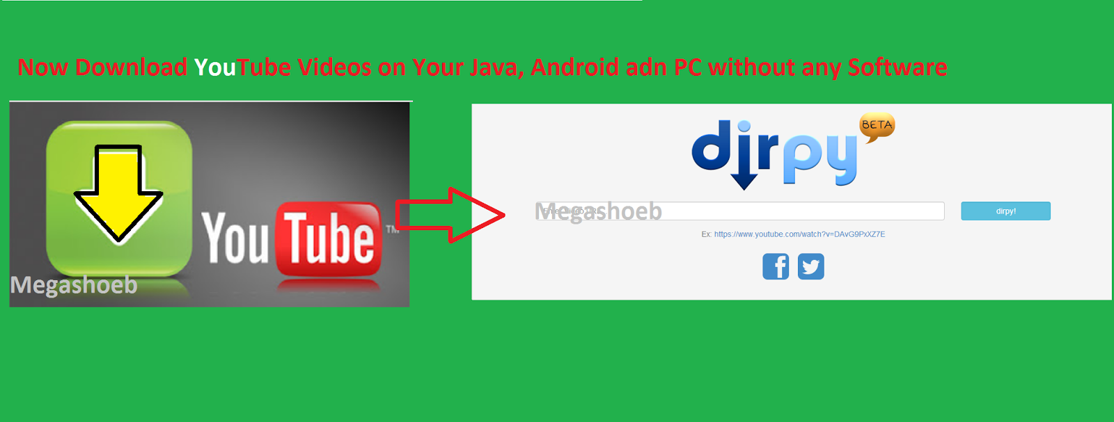 How to download youtube videos without any software on java android want to download youtube on your mobile specially for java users you want to download youtube videos but now its possible to download youtube videos on ccuart Gallery