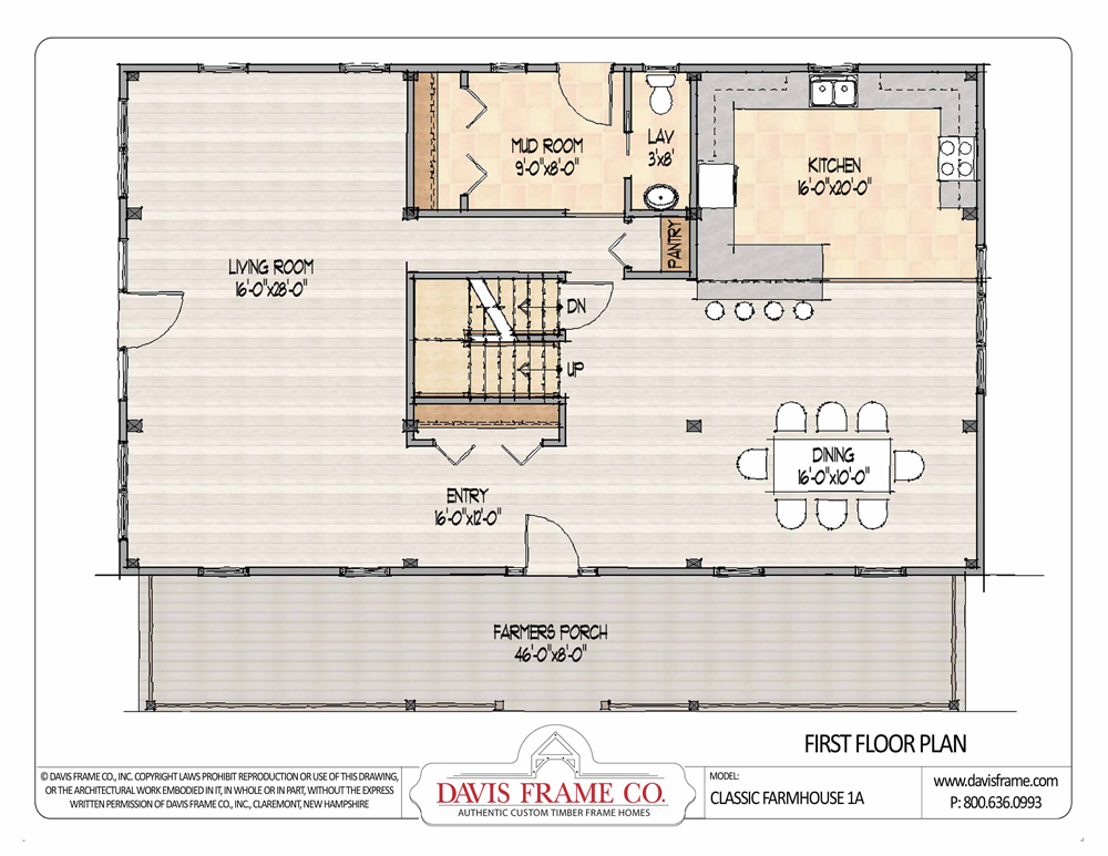 16 cool open floor plan farmhouse building plans online Open farmhouse plans
