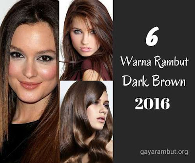 6 ide warna rambut dark brown 2016_632974120