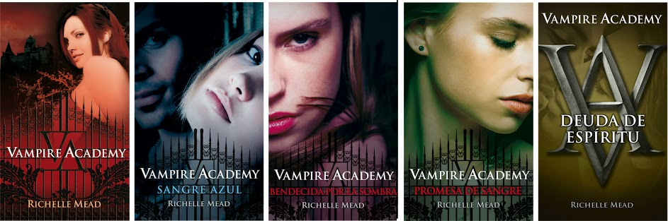 vampire academy portadas