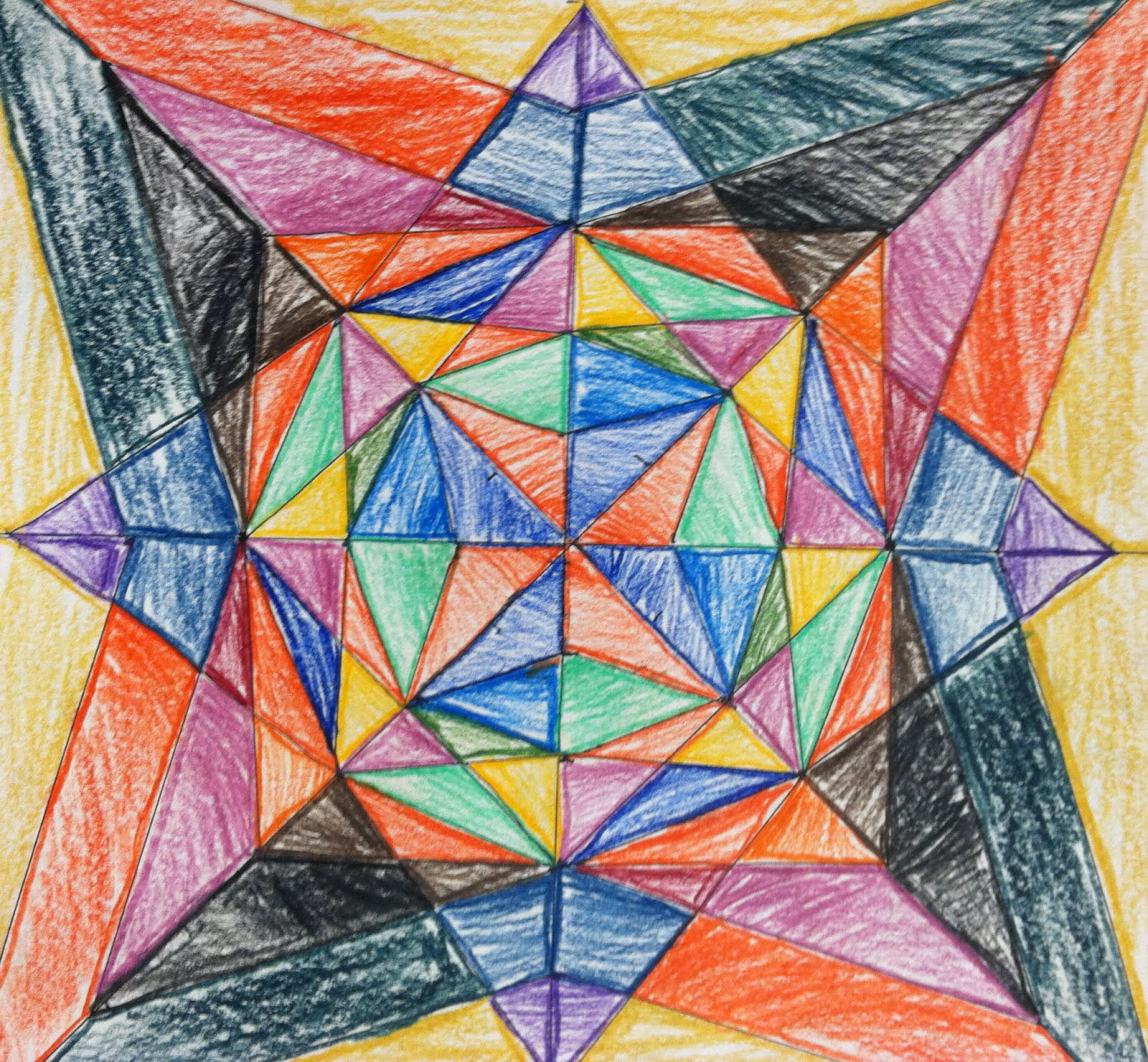 Radial Design Art : Ms bandstra s art room radial design