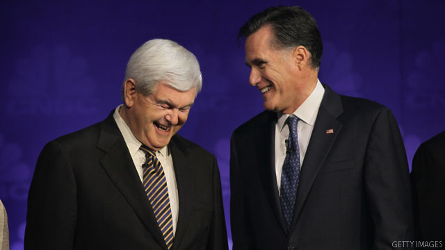 Gingrich and Romney