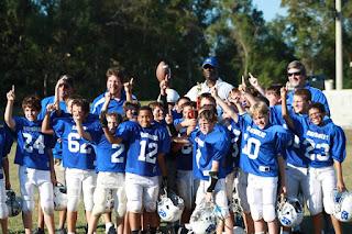 Montgomery Catholic Pee Wee Football Team Wins Jamboree 1