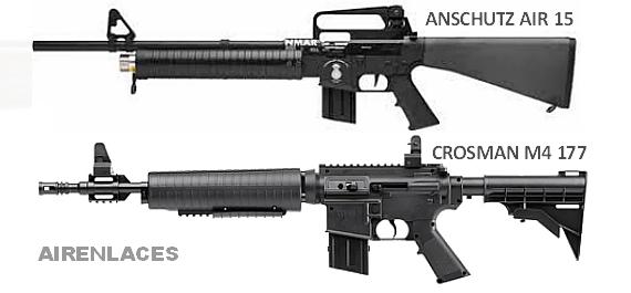 Culatas fusil de asalto, Crosman M177