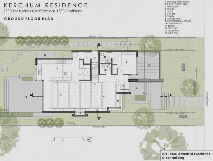 LEED Platinum Residence, Kerchum Residence