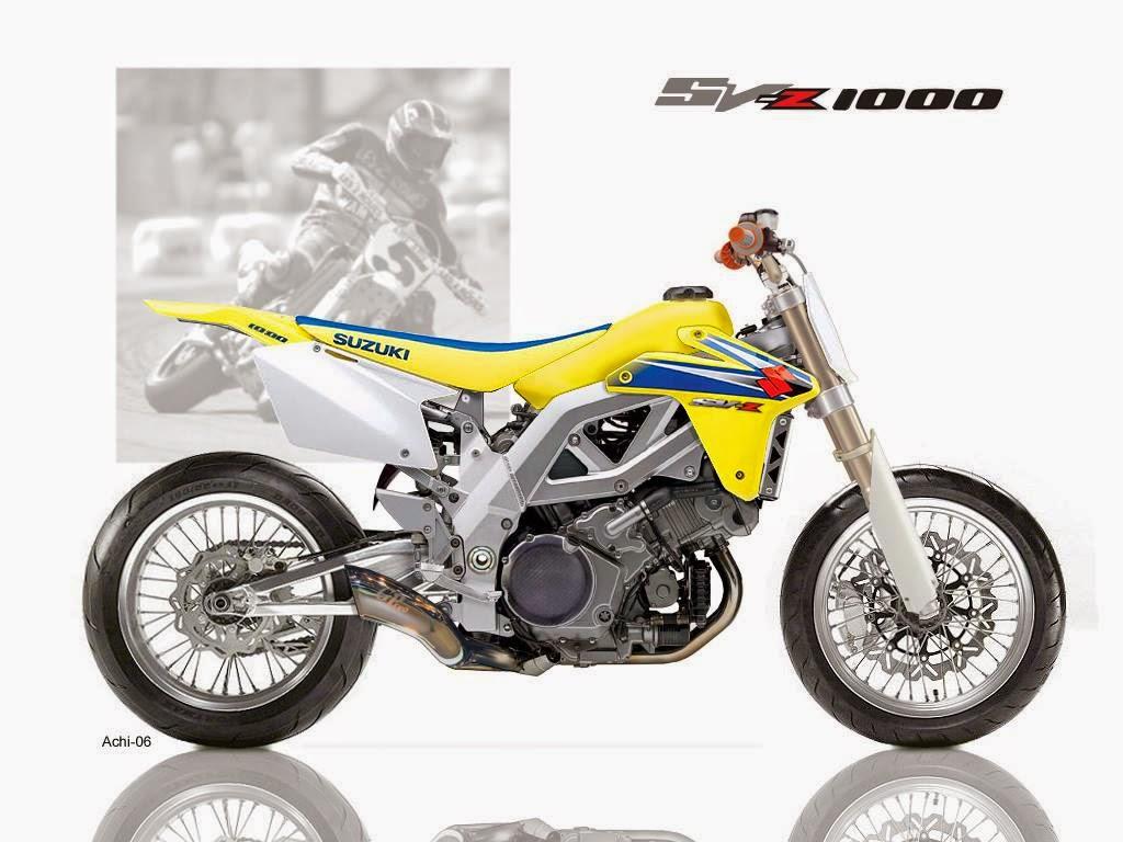 Suzuki Svrace Bike