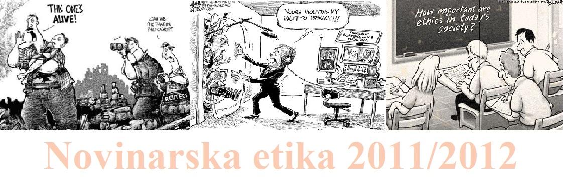 Novinarska etika 2011/2012