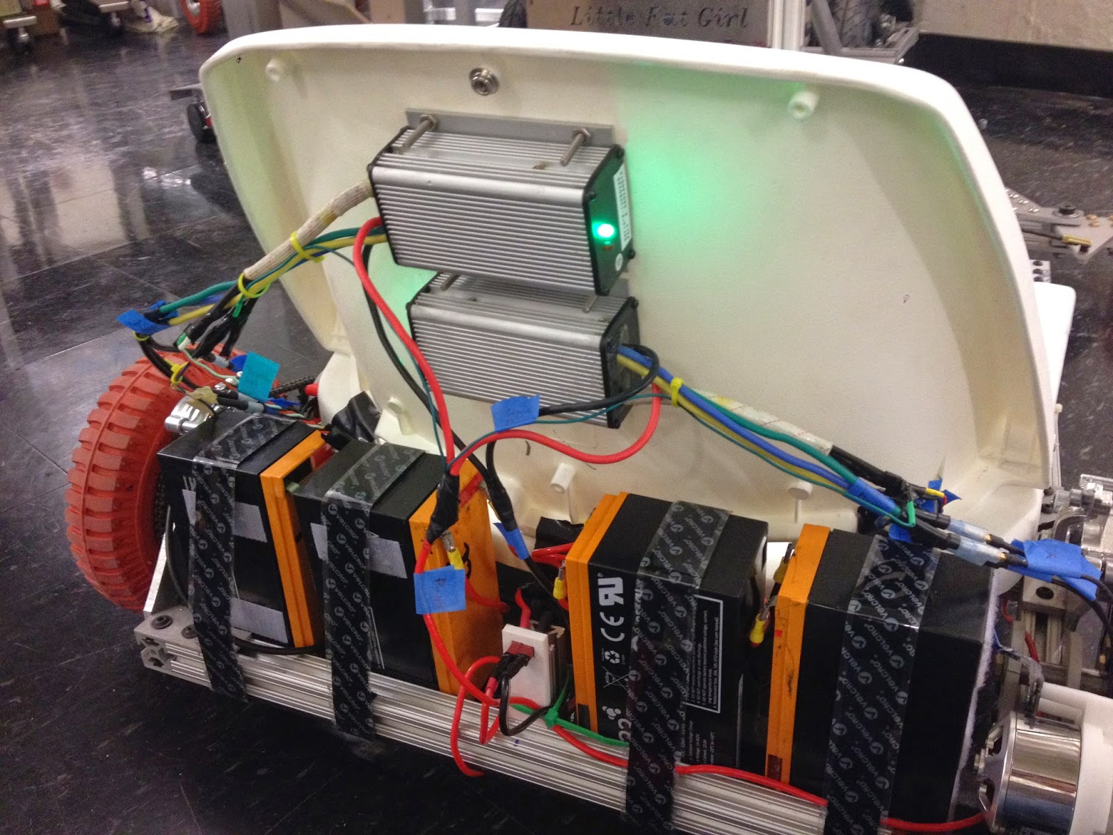 Building An Electric Go Kart