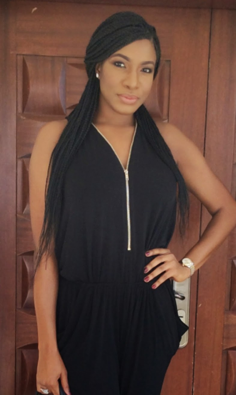 Chika ike chika ike shows off her new look diamond celebrities - Chika Ike S Ouftit To Her African Diva Reality Tv Show Audition