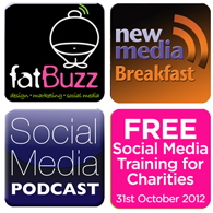 fatBuzz Social Media Training Day for Charities on 31st October at 29 Glasgow,