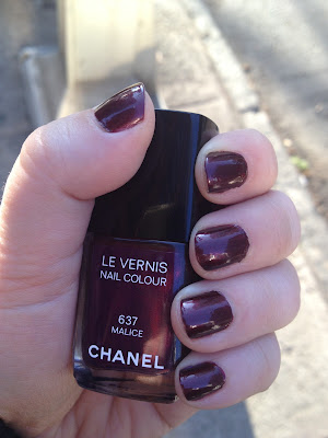 Nail of the Day: Chanel Malice