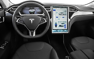 Tesla Model S App in Google Play Store