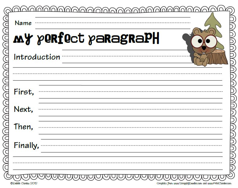 Groundhog day worksheets first grade free