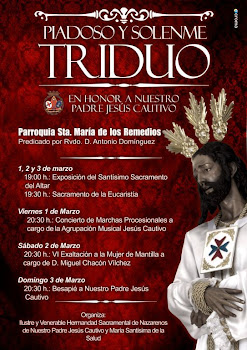 TRIDUO A JESÚS CAUTIVO