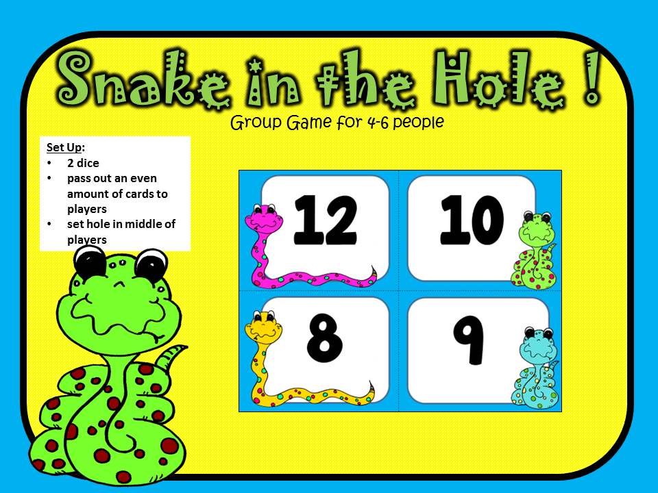 https://www.teacherspayteachers.com/Product/Snake-in-the-Hole-Math-Fact-Group-Game-Easy-Facts-to-66-for-K-1st-and-2nd-1695664