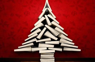 Dai libri nascono gli alberi di Natale