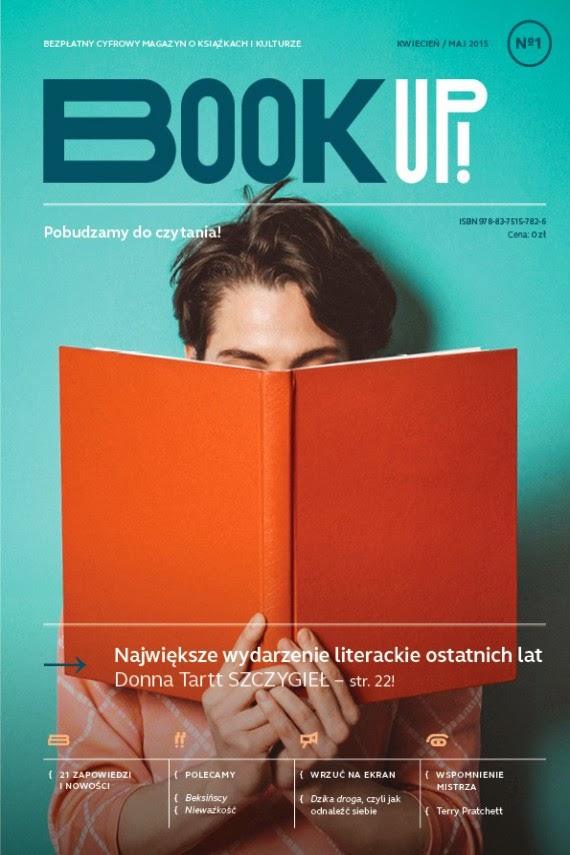 Book Up! - Magazyn o książkach - Nr 1
