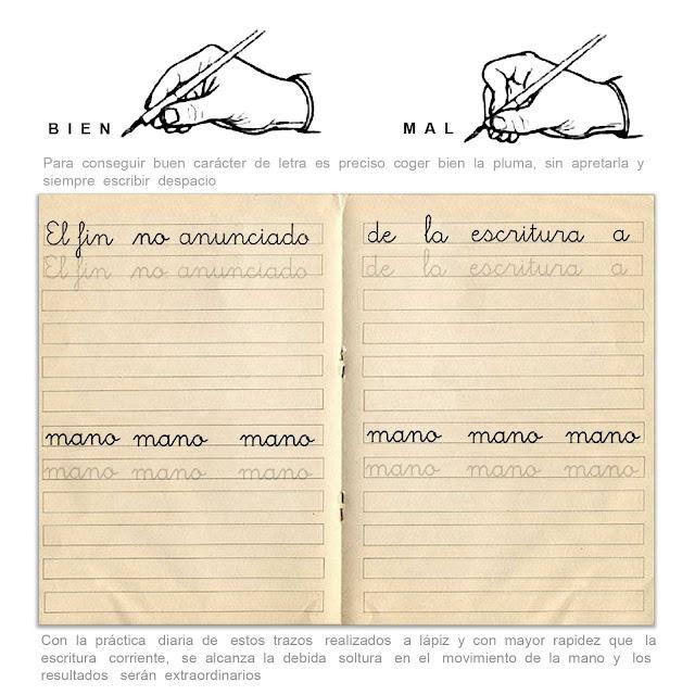 cuaderno de caligrafia