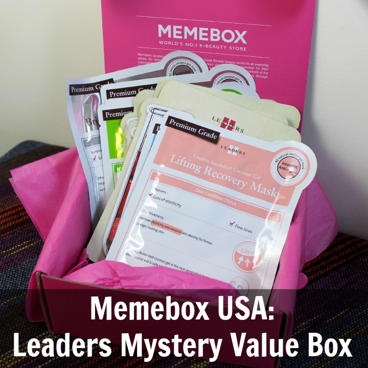 Memebox USA Leaders Mystery Value Box review unboxing