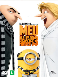Filme Poster Meu Malvado Favorito 3