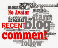 Add Recent Comments Widget no Avatar for Blogger Blogs