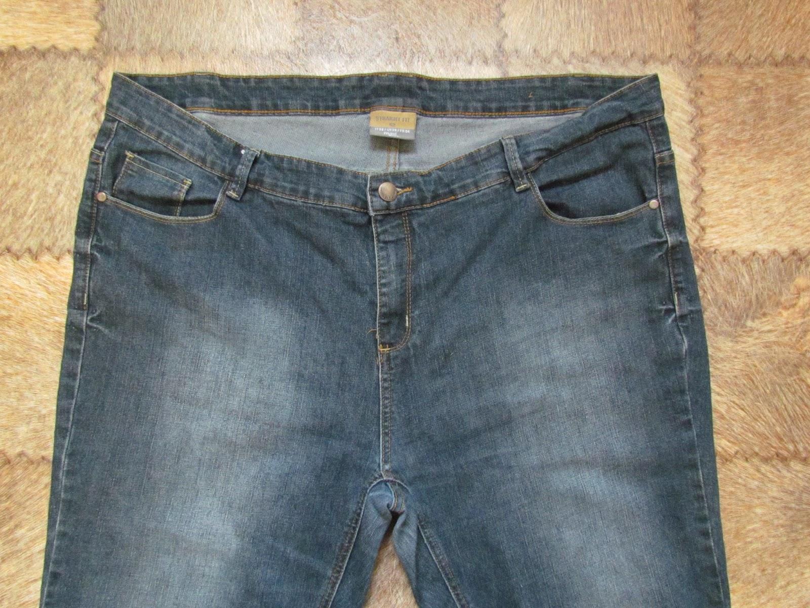 Как сделать джинсы на один размер меньше 21