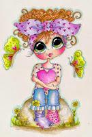 chalenge noor butterfly girl